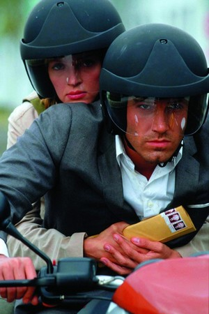 Ben Affleck as Jennings in Paycheck
