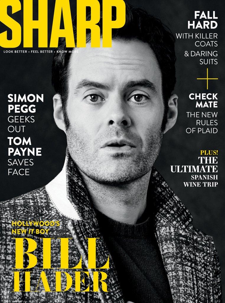 Bill Hader - Sharp Magazine Cover - 2019