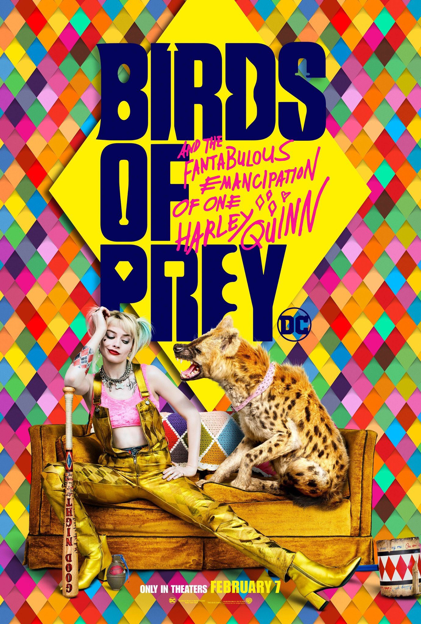 Birds of Prey (And the Fantabulous Emancipation of One Harley Quinn) (2020) Poster