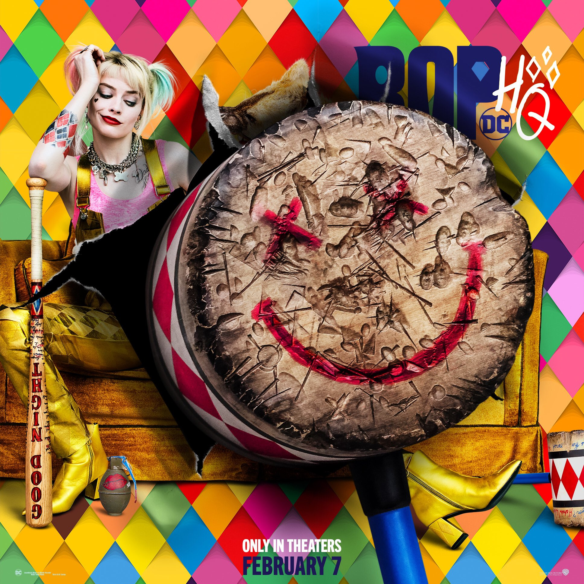 Birds Of Prey And The Fantabulous Emancipation Of One Harley Quinn 2020 Poster Harley Quinn Foto 43029375 Fanpop