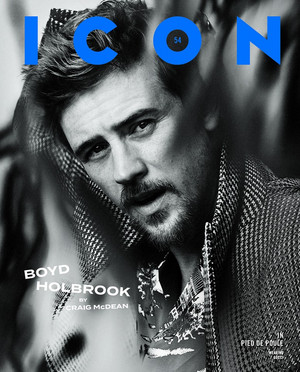 Boyd Holbrook - icon Magazine Cover - 2019