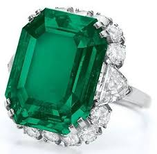 Bulgari zamrud, emerald And Diamond Ring