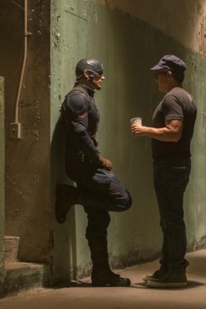 Captain America: Civil War -BTS