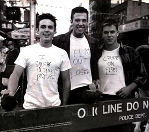 Casey Affleck, Ben Affleck and Matt Damon - Interview Magazine Photoshoot - 1997