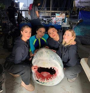 Cast of 47 Meters Down: Uncaged