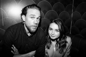 Charlie Hunnam and Jessica Barden - Coveteur Photoshoot - 2019