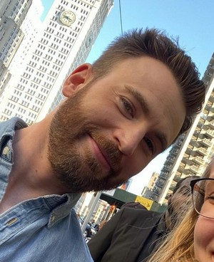 "Chris Evans Filming ""Billy on the Street"" in New York (October 24, 2019)"