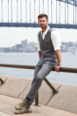 Chris Hemsworth -Tourism Australia Campaign Preview, Sydney › October 30, 2019