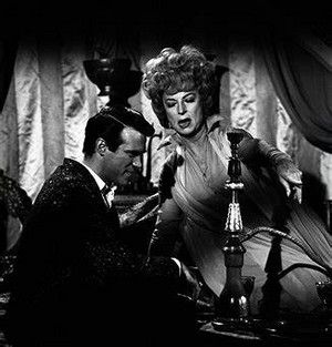Christopher George and Agnes Moorehead