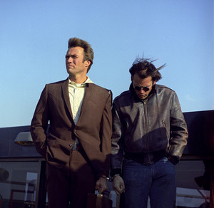 Clint Eastwood and Don Stroud in Coogan's Bluff