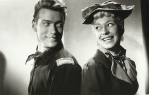 Clint and Carol Channing in The First Traveling Saleslady (1956)