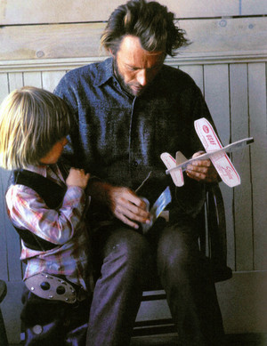 Clint and Kyle Eastwood (1972)