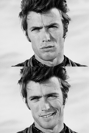 Clint as Rowdy Yates in Rawhide