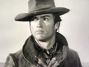 Clint in Rawhide as Rowdy Yates