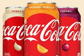 Coca Cola In Three Flavors