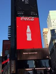 Coca Cola Times Square Billboard