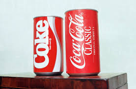 Coke And Coca Cola Classic