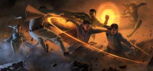 Concept art for Doctor Strange 由 Ryan Lang