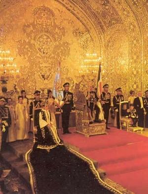 Coronation of Farah Diba Pahlavi, the Last Shahbanu (Empress) of Iran