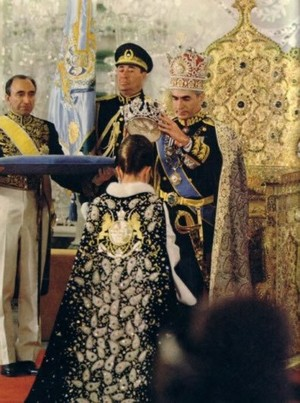 Coronation of Farah Diba Pahlavi, the Last Shahbanu (Empress) of Iran
