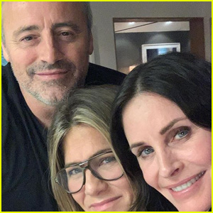 Courteney Cox, Jennifer Aniston and Matt LeBlanc Have a Mini-'Friends' Reunion!