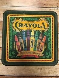 Crayola Drawing Crayons 90th Anniversary Collector's Tin