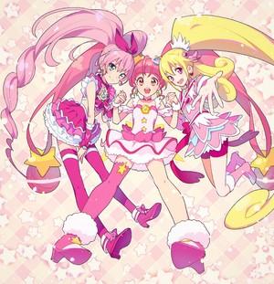 Cure Melody, Cure estrella and Cure corazón