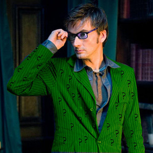 David Tennant Riddler With Glasses