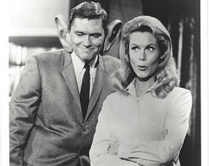 Dick York and Liz
