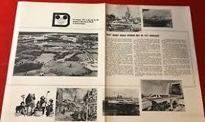 Disney World 1971 Promo Ad