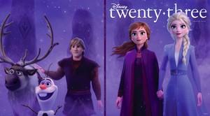 迪士尼 twenty-three magazine winter issue cover