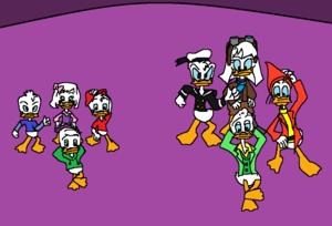 DuckTales Moonvasion! - canard Cousins Reunion