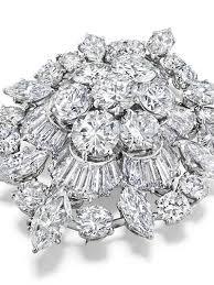 Elixabeth Taylor Diamond Brooch