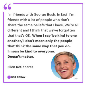 Ellen Degeneres Explains How To Be A Decent Human Being
