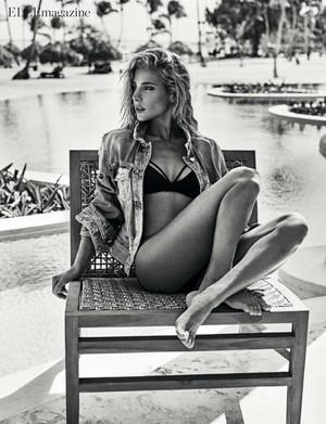 Elsa Pataky - Elle Spain Photoshoot - 2017