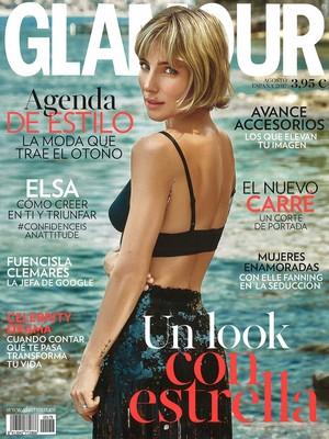 Elsa Pataky - Glamour Spain Cover - 2017