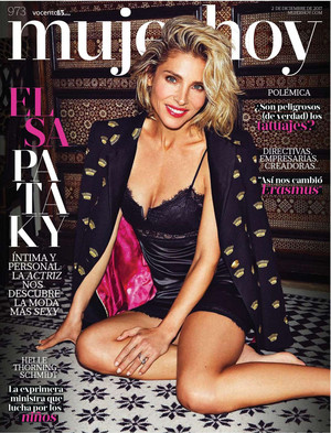 Elsa Pataky - Mujer Hoy Cover - 2017
