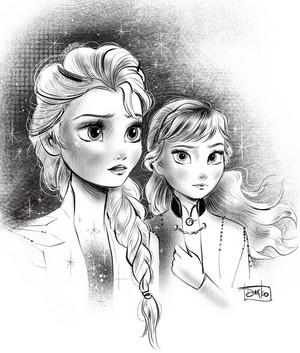 艾尔莎与安娜