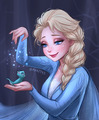 Elsa and Bruni - elsa-and-anna fan art