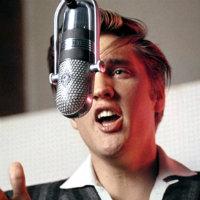 Elvis Presley recording at RCA Studio 1 in New York on July 2, 1956