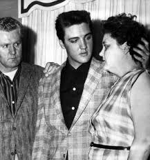Elvis With His Parents