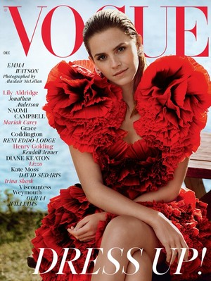 Emma Watson British Vogue December 2019 issue