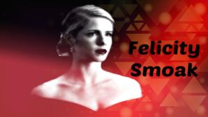 Felicity Smoak karatasi la kupamba ukuta