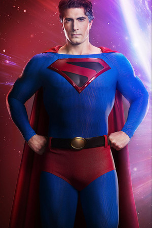 First Look at Brandon Routh as Kingdom Come スーパーマン - Crisis on Infinite Earths