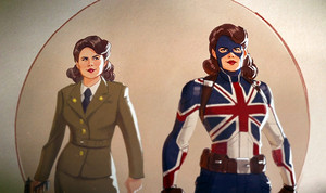 First look at Peggy Carter and Steve Rogers in Marvel Studios What If…?