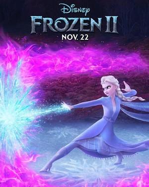 アナと雪の女王 2 Character Poster - Elsa