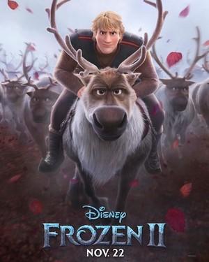 Nữ hoàng băng giá 2 Character Poster - Kristoff and Sven
