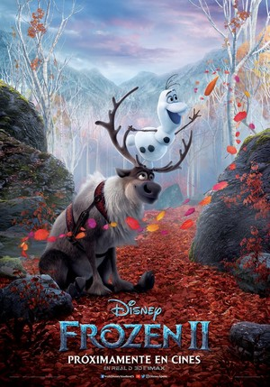 Frozen 2 Character Poster - Olaf and Sven