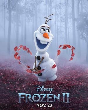 La Reine des Neiges 2 Character Poster - Olaf