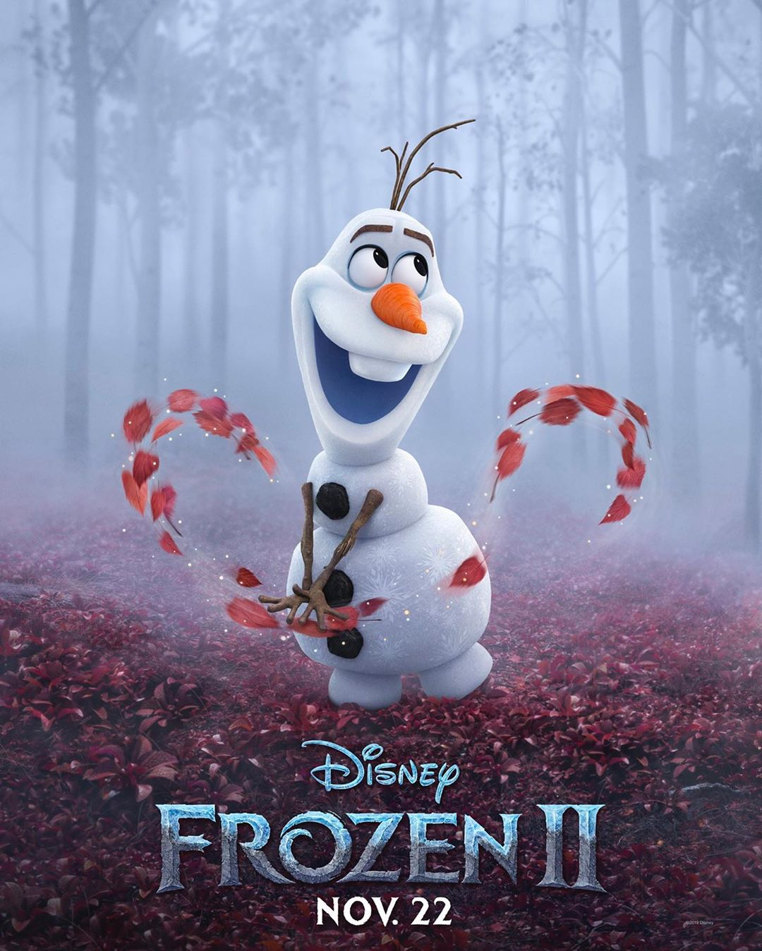 Frozen 2 Character Poster - Olaf